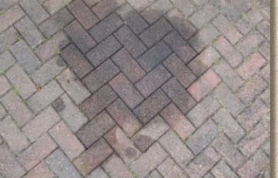 Oil Stains On Block Paving